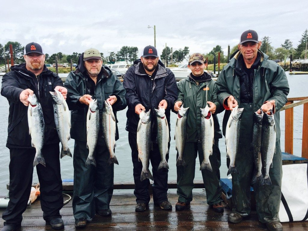Very successful day for fishing on the Columbia River | Willamette Valley Outfitters
