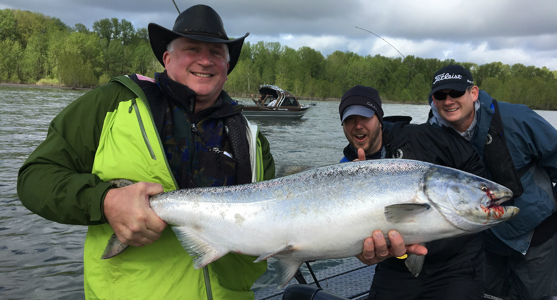 Adjust to challenging conditions for willamette spring for Siletz river fishing report