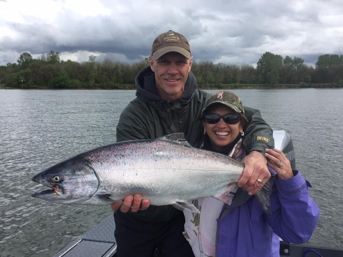 Catching Salmon in the Columbia River | Columbia Oregon Fishing Guide