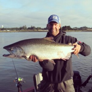 Large Salmon to be Proud of | Buoy 10 Fishing Guide