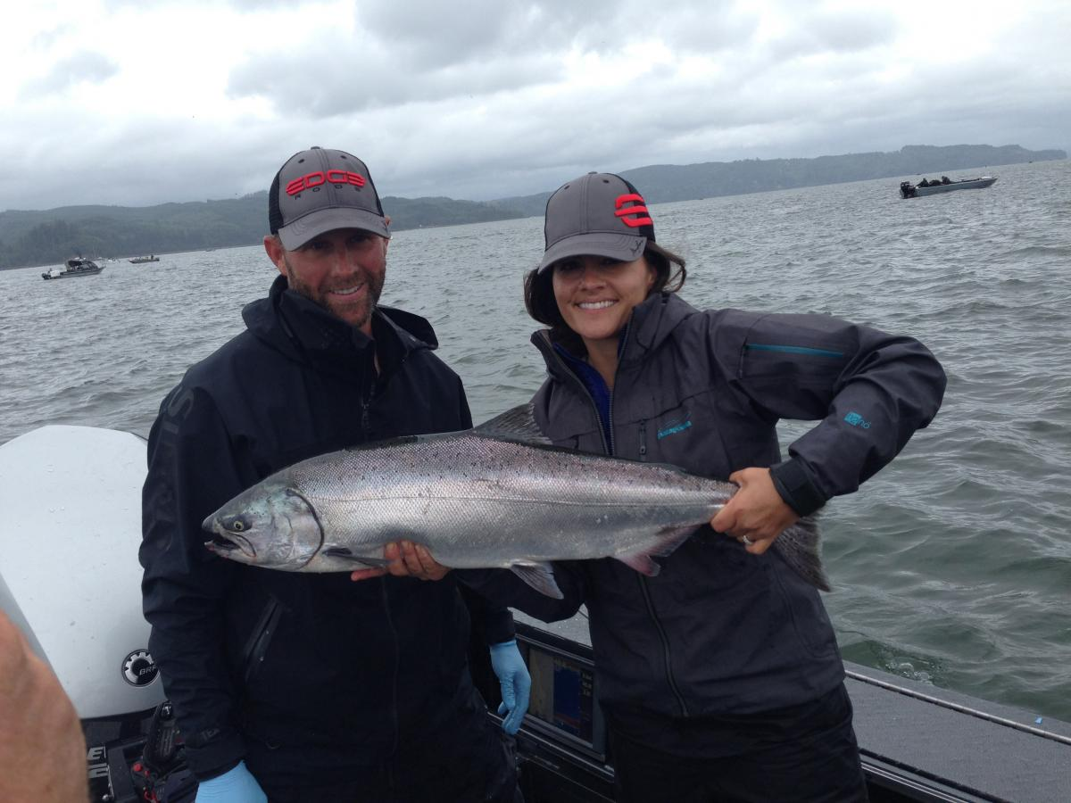 Caught some beautiful Salmon | Buoy 10 Fishing Guide