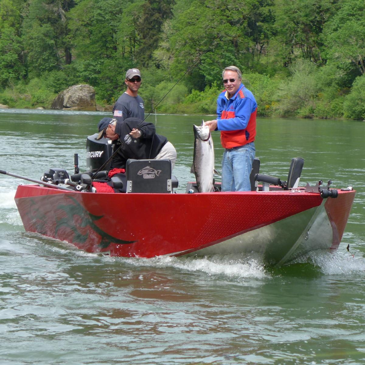 Successful day on the Umpqua River in Douglas County Oregon | WVO