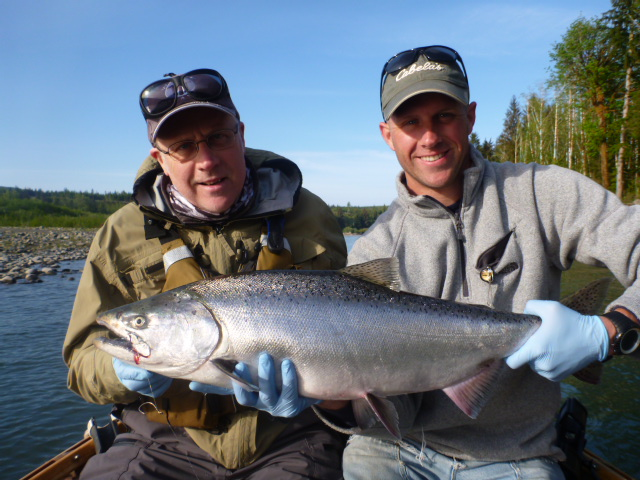 Catching Steelhead and Chinook on the Umpqua River in Douglas County Oregon | WVO