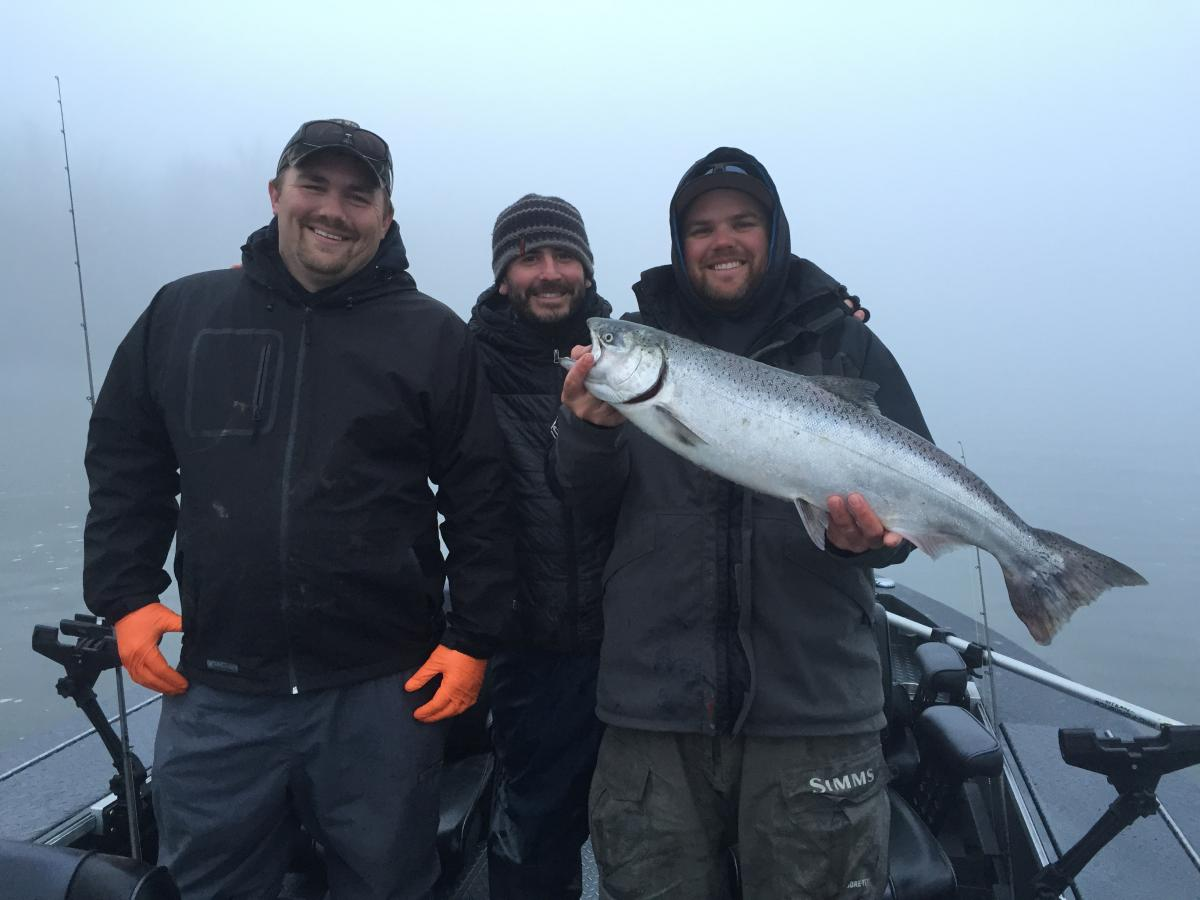 Successful day catching salmon on the Willamette River | WVO