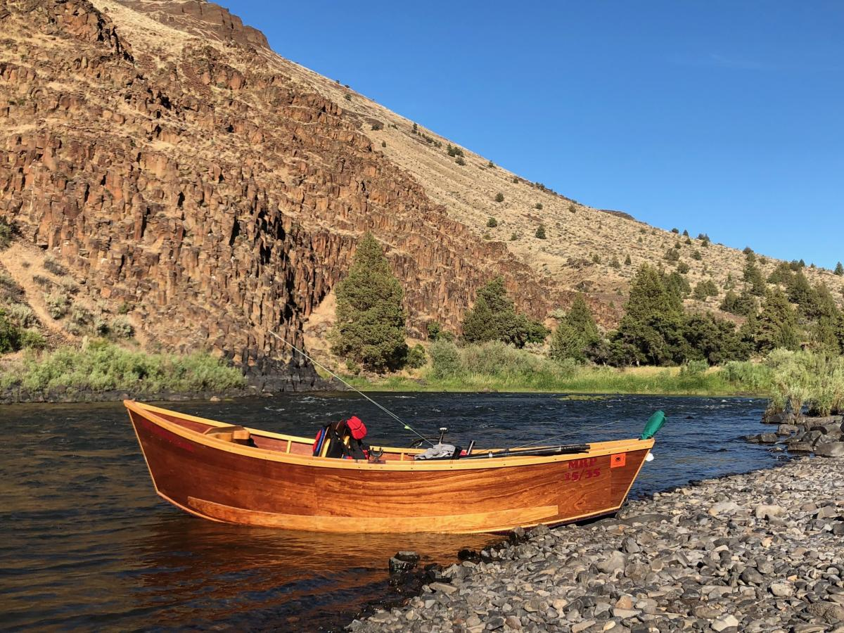 Fully Outfitted John Day River Fishing | John Day River Outfitters | WVO