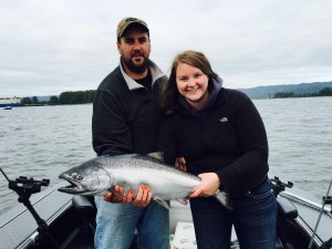 Another successful day salmon fishing on the Willamette River in Eugene & Portland | WVO